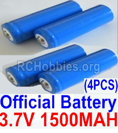 HBX 12891 3.7V 1500mAH Battery(Li-ion Batteries)-12633
