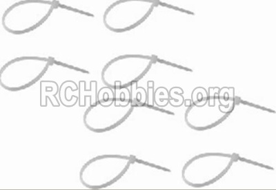 HBX 12891 Zip Ties-Small(8pcs) P011