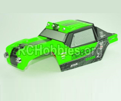 HBX 12891 Body shell cover-Desert Truck Shell,Car shell-Green 891-B002