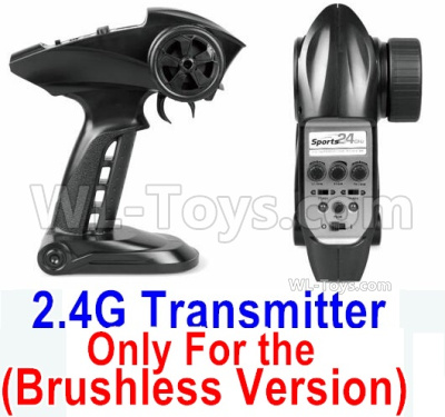 HBX 16889 Transmitter,2.4Ghz Radio (Only for Brushless Car)-12670-2.4G