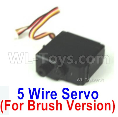 HBX 16889 Servo (5-wire)-Only for the Brush Version-M16033