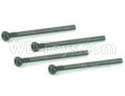 HBX 16889 Front Upper Suspension Hinge Bolts-M16023