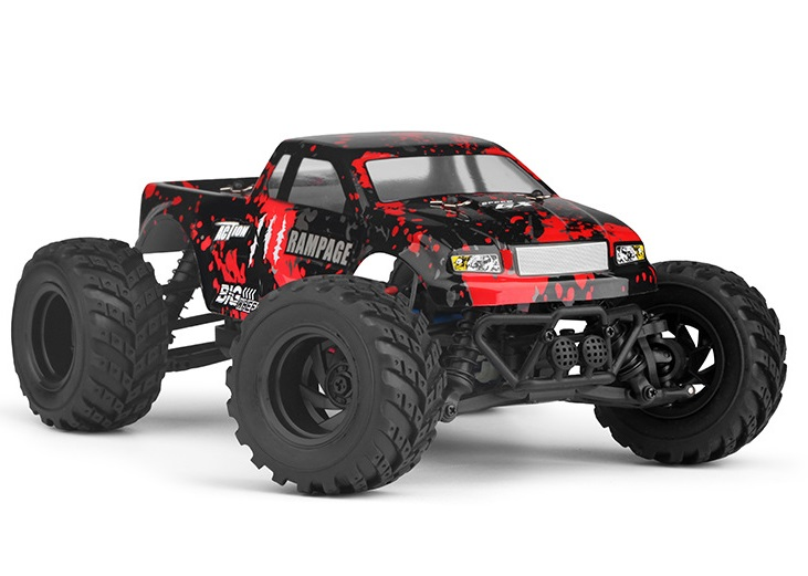 HBX Rampage rc truck,18859E RC Car 1/18 Haiboxing HBX 18859EP Rampage Electric 4WD Off-Road Truck-Red Color