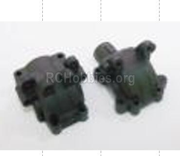 HBX Rampage Diff. Gearbox Housing Parts