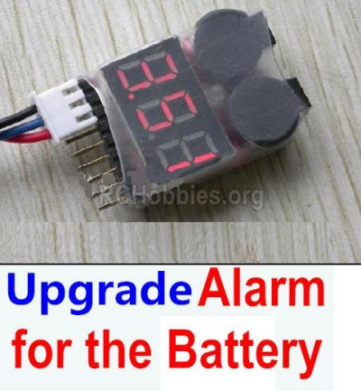 HBX Rampage 18859E Upgrade Alarm for the Battery Parts