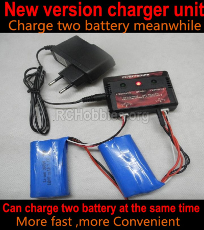 HBX Rampage 18859E Upgrade version charger and Balance charger