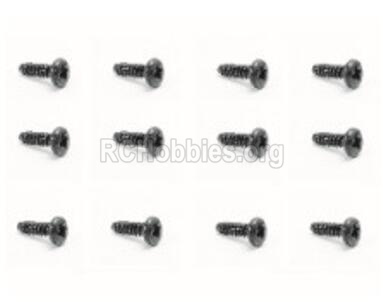 HBX Rampage 18859E Screws Pan Head Screw-PMHO2x8mm