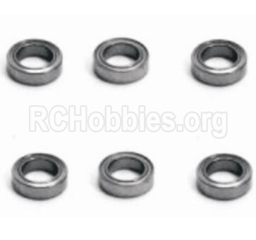 HBX 2098B Devastator Ball Bearings(6pcs)Parts-3x6x2.5mm-H128