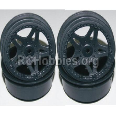HBX Survivor MT 12811 Car Parts-Front and Rear Wheel hub-(4PCS)-(Not include the Tire lether) Parts-12035 12038