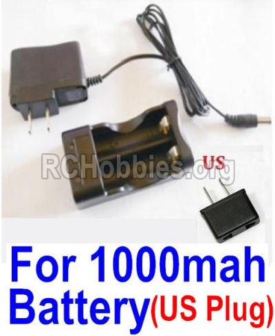 HBX Survivor MT 12811 Car Parts-Charge Box and Charger parts-25207(USA Standard Socket)-(Can only be used for 1000mah Battery) Parts