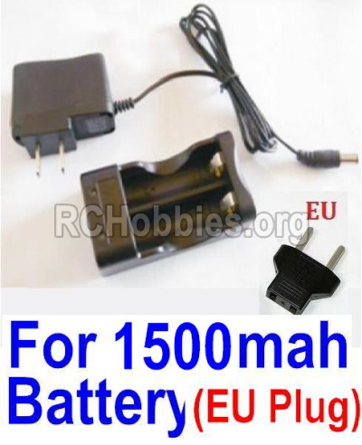 HBX Survivor MT 12811 Car Parts-Charge Box and Charger Parts-12641(Europen Standard Socket)-(Can only be used for 1500mah Battery) Parts