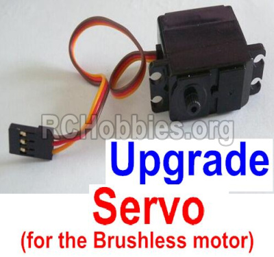 HBX Survivor MT 12811 Car Parts-Upgrade 3-wire Steering Servo Parts-12224(Can only be used for the Upgrade brushless kit)