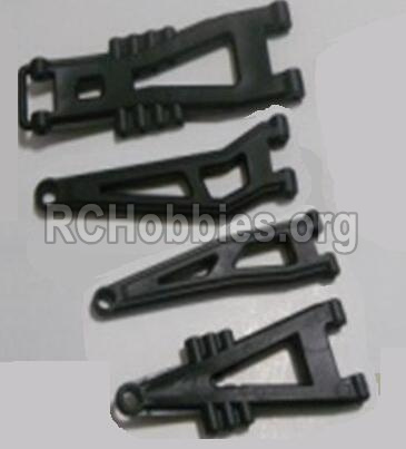 HBX 12891 Dune Thunder Car Parts-Front And Rear Suspension Arms,Front And Rear Swing Arm(Total 4PCS) Parts-12603
