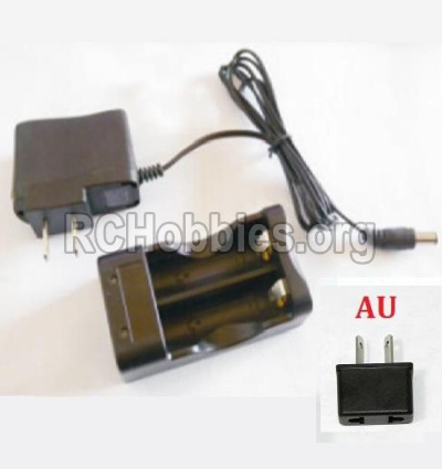 HBX 12891 Dune Thunder Car Parts-Charge Box and Charger(Australia Standard Socket) Parts-12643