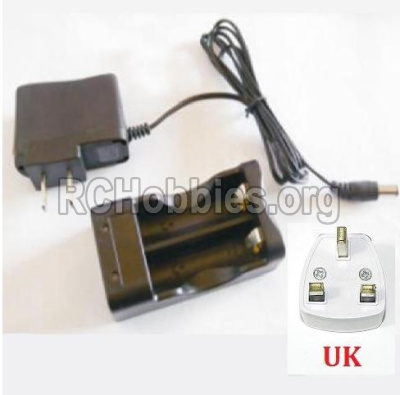 HBX 12891 Parts-Charge Box and Charger(United Kingdom Standard Socket) Parts-12644