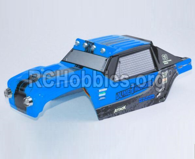 HBX 12891 Parts-Body shell cover-Desert Truck Shell,Car shell-Blue Parts-891-B003