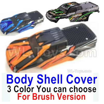 HBX 16889 RAVAGE Car Parts-RAVAGE Body Shell Cover Parts-1pcs-3 Color you can choose(For Brush Version)