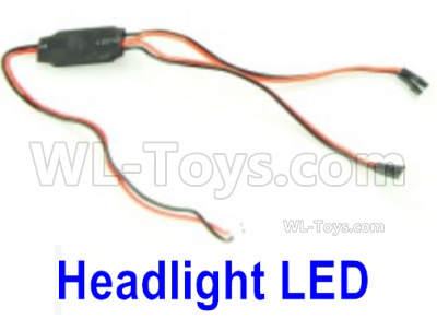 HBX 16889 RAVAGE Car Parts-Headlight LED-M16061