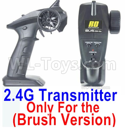 HBX 16889 RAVAGE Car Parts-Transmitter,2.4Ghz Radio (Only for Brushed Car)