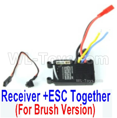 HBX 16889 RAVAGE Car Parts-Receiver,Bush ESC-M16032