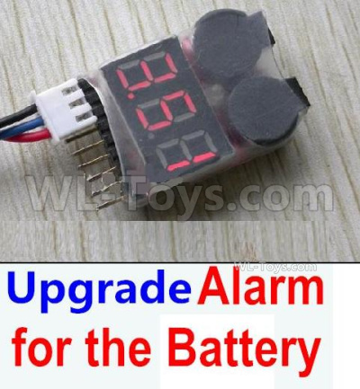 HBX 16889 RAVAGE Car Parts-Upgrade Alarm for the Battery,Can test whether your battery has enouth power