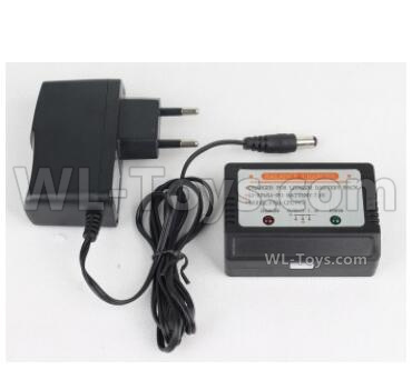 HBX 16889 RAVAGE Car Parts-Upgrade Charger and Balance charger Parts-Can Charger 1 Battery at the same time (1)