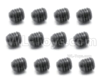 HBX 16889 RAVAGE Car Parts-Set Screw 2.5x2.5mm-S103,Total 12pcs