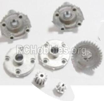 HBX 2118 Car Parts-Metal Diff. Gears & MetalDrive Pinion Gears Parts-25005R