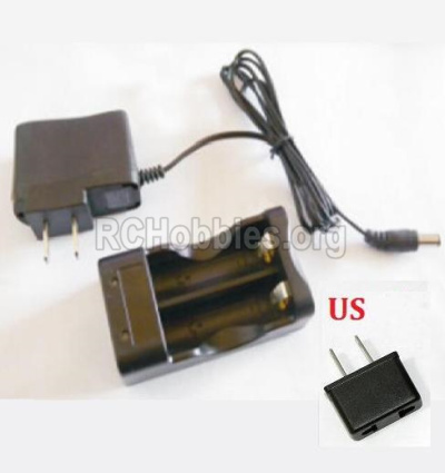 HBX 2118 Car Parts-Charger Parts-02 Charge Box and Charger(USA Standard Socket) Parts-25027