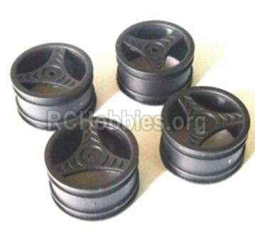 HBX 2118 Car Parts-Wheel Hub(4pcs) Parts-Not include the tire lether Parts-24023
