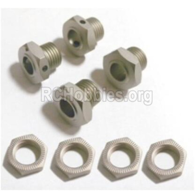 HBX T6 Buggy Parts-Wheel Hex. Wheel Hex. Lock Parts TS026