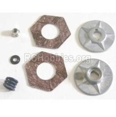 HBX T6 Buggy Parts-Slipper Clutch Assembly Parts Parts TS034