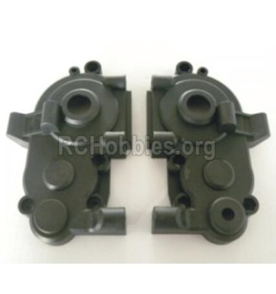 HBX T6 Buggy Parts-Gear Box Housing Parts TS040