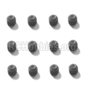 HBX T6 Buggy Parts-Hex. Recessed Set Screws(M3x10mm)-12pcs Parts TS225